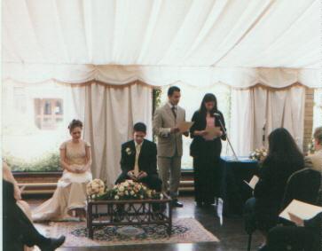 The Baha'i Wedding Ceremony